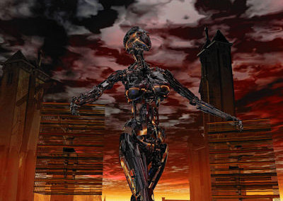 RobotFemaleStriding3VSmall